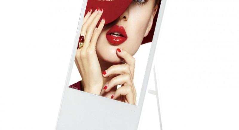 Рекламен екран на стойка