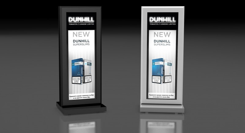 Настолен Дигитален Рекламен Дисплей с LCD екран